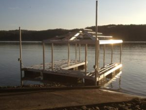 lake dock prices