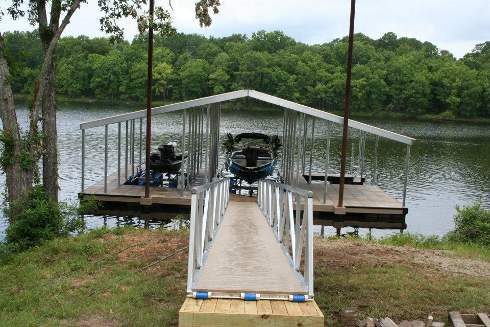 3 Slip Floating Dock Boat Dock