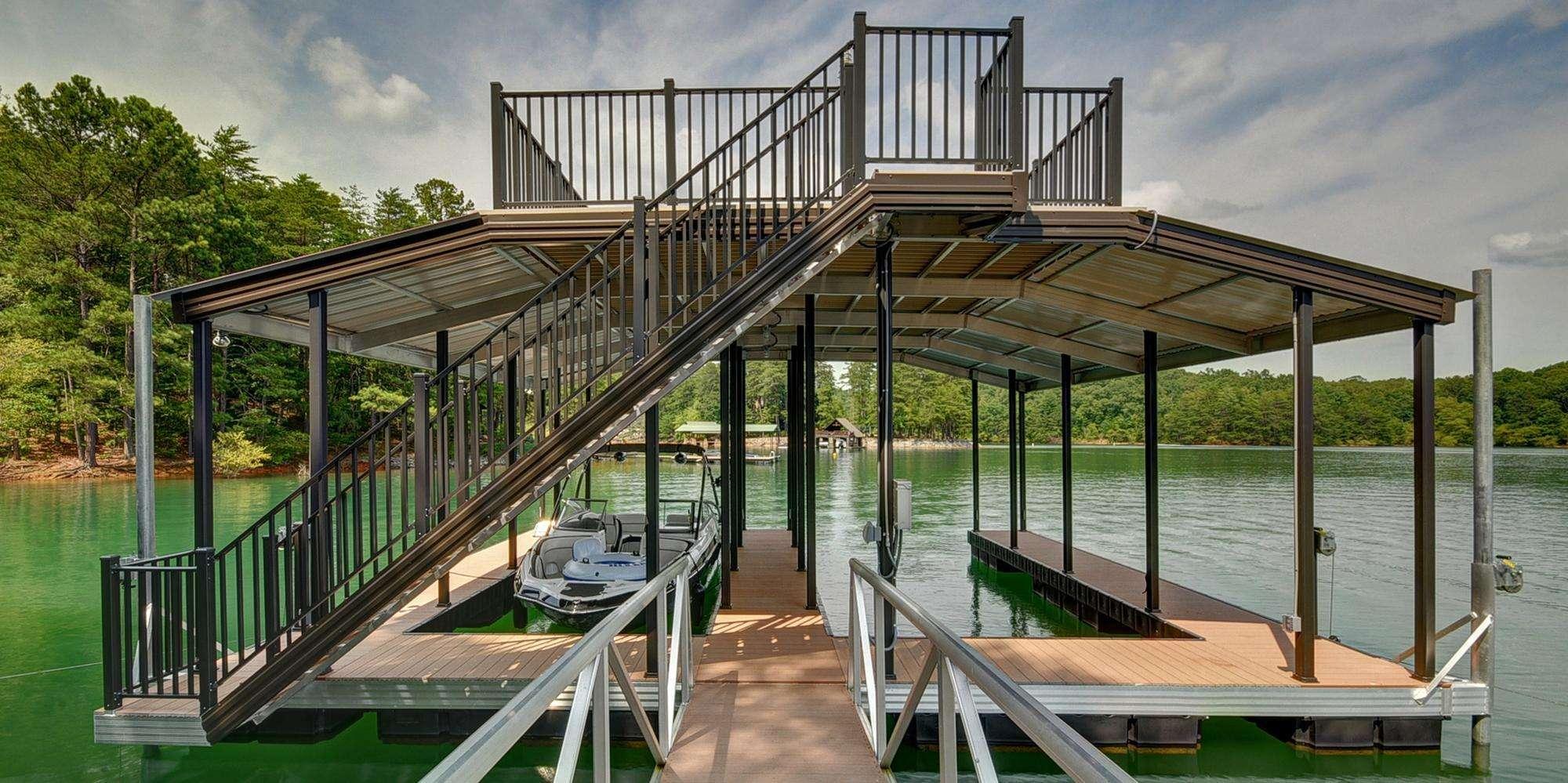 Aluminum Dock Sundeck Dock Roof