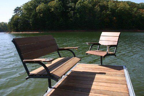 Boat Dock Bench