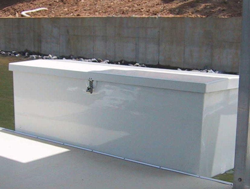 Boat dock box fiberglass dock box for Boat mailbox