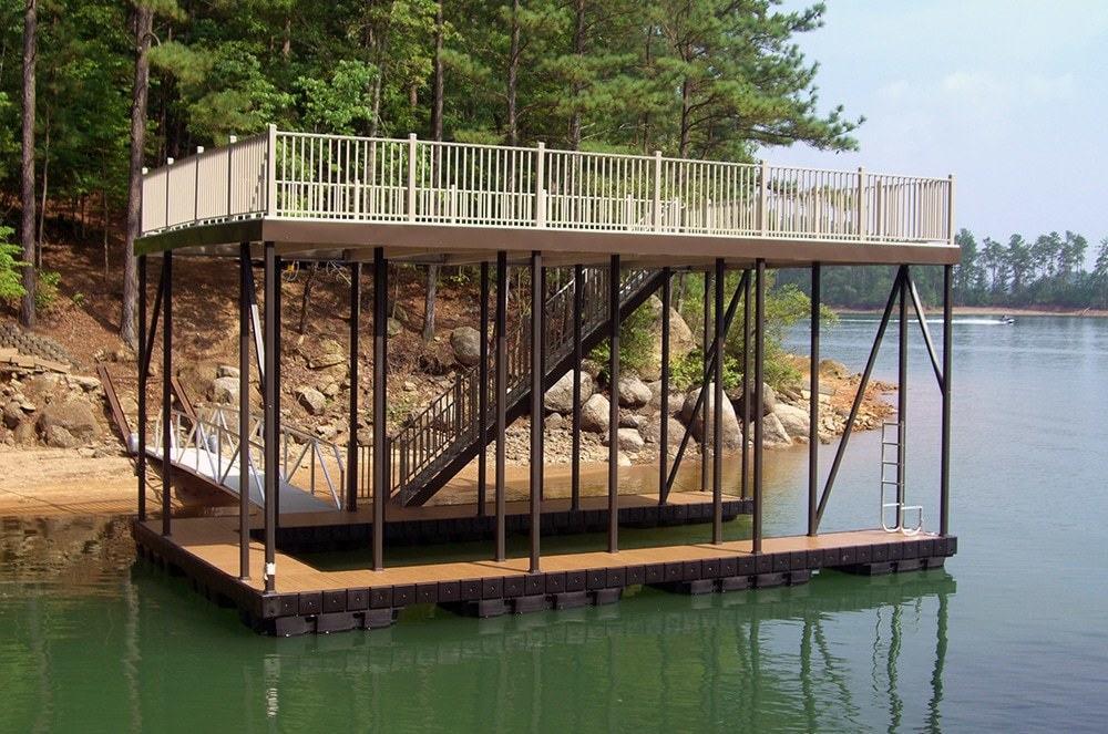 Floating Docks   Boat Dock Design   Dock Decking