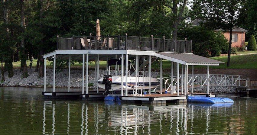 lake dock prices