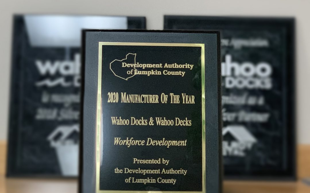 Wahoo Docks Awarded as a 2020 Manufacturer of the Year